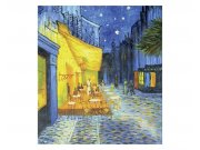 Vliesové fototapety na zeď Terasa kavárny od Vincenta van Gogha | MS-3-0251 | 225x250 cm Fototapety vliesové