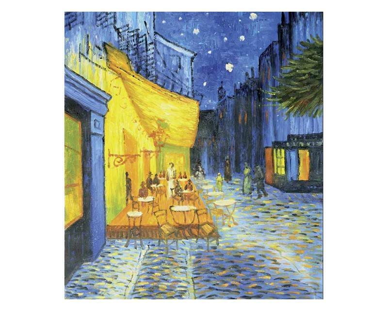 Vliesové fototapety na zeď Terasa kavárny od Vincenta van Gogha   MS-3-0251   225x250 cm - Fototapety vliesové