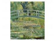 Vliesové fototapety na zeď Rybník s lekníny od Claude Oskara Moneta | MS-3-0255 | 225x250 cm Fototapety vliesové