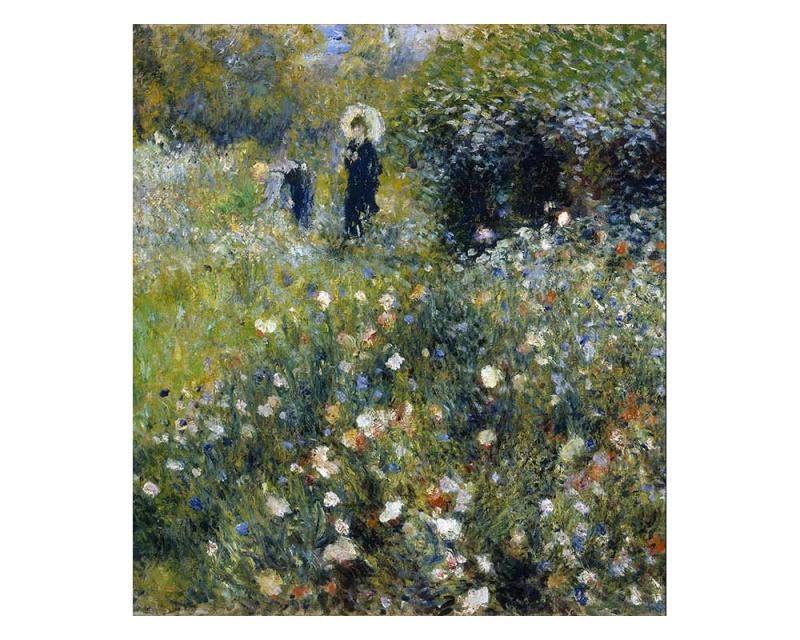 Vliesové fototapety na zeď Ženy v zahradě od Pierra Augusta Renoira | MS-3-0256 | 225x250 cm - Fototapety vliesové