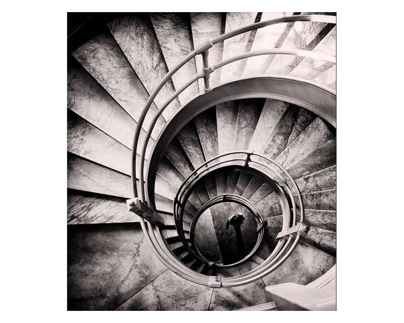 Vliesové fototapety na zeď 3D točité schodiště | MS-3-0271 | 225x250 cm - Fototapety vliesové