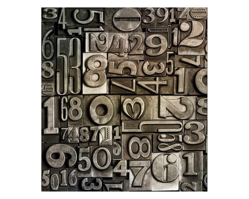 Vliesové fototapety na zeď Číslice | MS-3-0273 | 225x250 cm - Fototapety vliesové