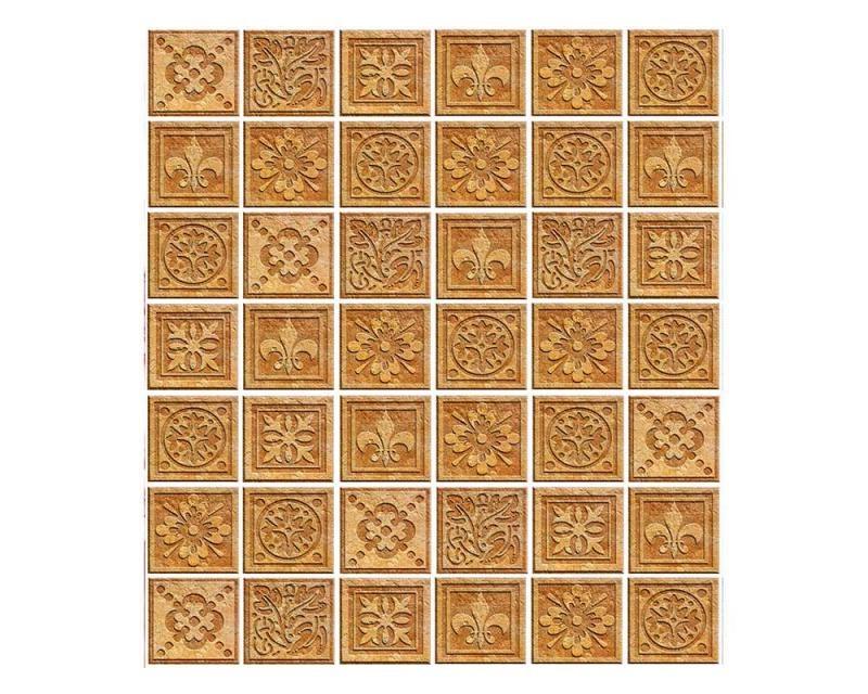 Vliesové fototapety na zeď Žulové kachličky | MS-3-0274 | 225x250 cm - Fototapety vliesové