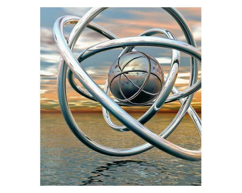 Vliesové fototapety na zeď Abstraktní koule | MS-3-0280 | 225x250 cm - Fototapety vliesové