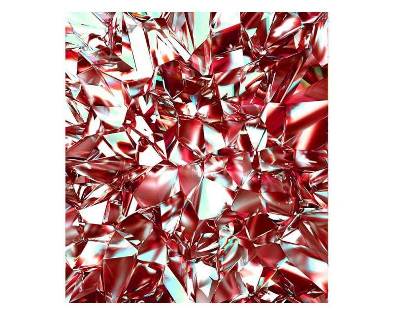 Vliesové fototapety na zeď Červený krystal | MS-3-0281 | 225x250 cm - Fototapety vliesové