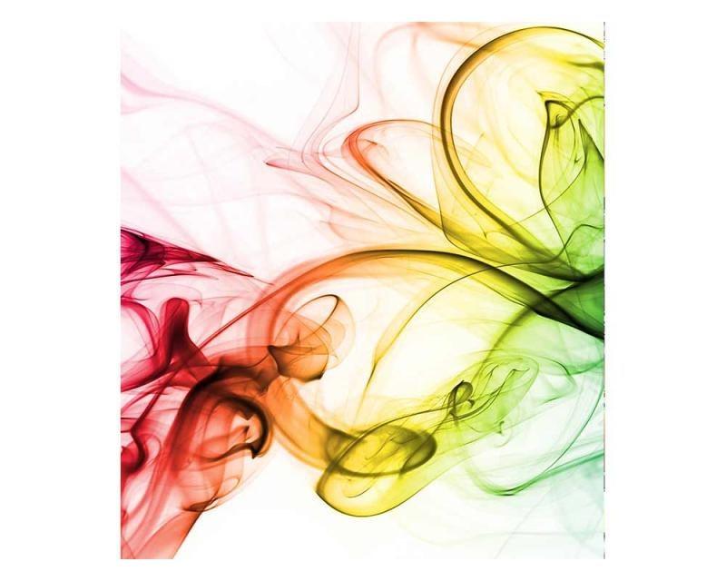 Vliesové fototapety na zeď Teplý kouř barev | MS-3-0289 | 225x250 cm - Fototapety vliesové