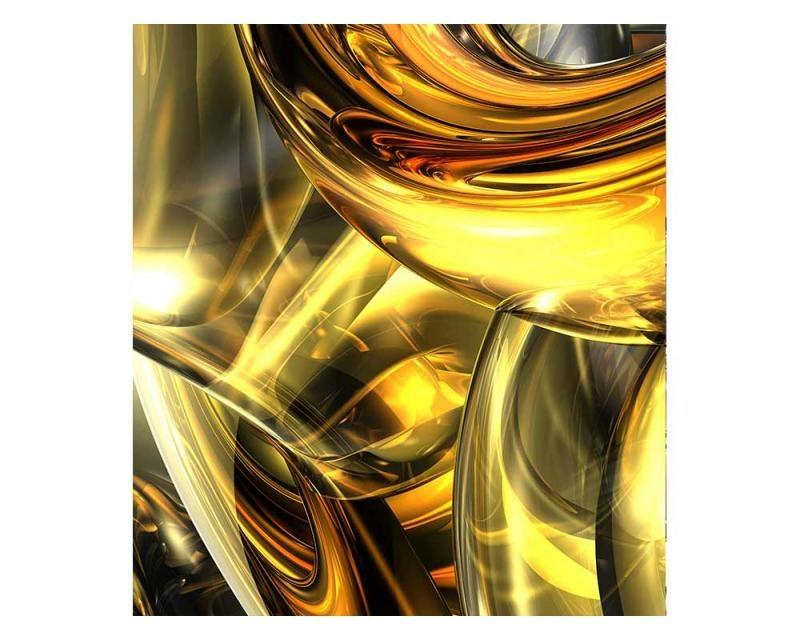 Vliesové fototapety na zeď Zlatý abstrakt   MS-3-0291   225x250 cm - Fototapety vliesové