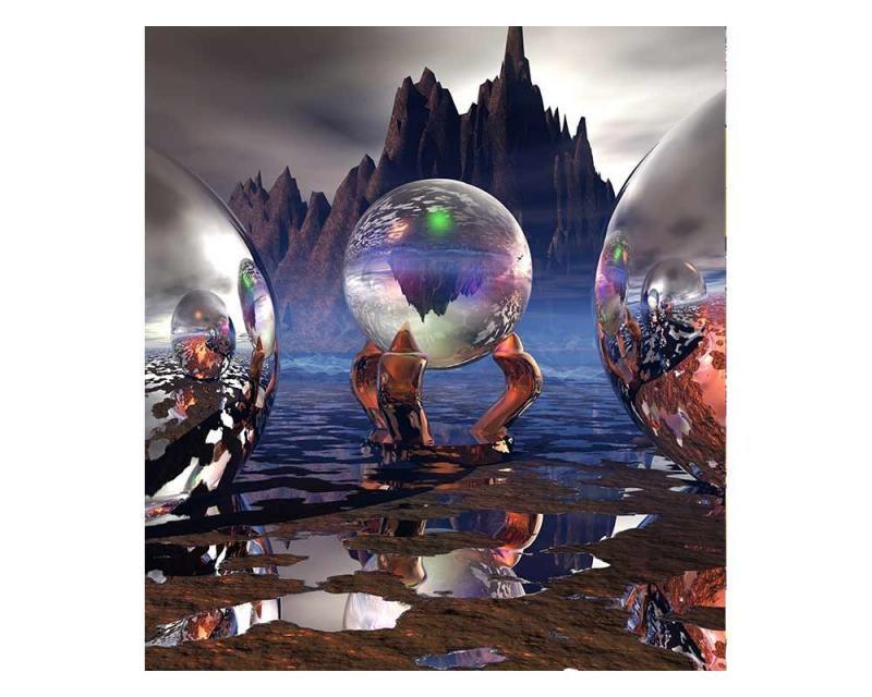 Vliesové fototapety na zeď Krystaly | MS-3-0292 | 225x250 cm - Fototapety vliesové