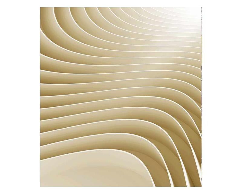Vliesové fototapety na zeď 3D vlny | MS-3-0296 | 225x250 cm - Fototapety vliesové