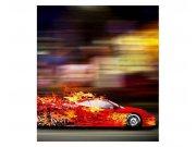 Vliesové fototapety na zeď Závodní auto | MS-3-0309 | 225x250 cm Fototapety vliesové