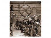 Vliesové fototapety na zeď Starobylá garáž | MS-3-0319 | 225x250 cm Fototapety vliesové