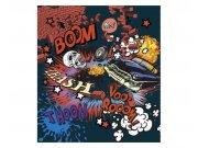 Vliesové fototapety na zeď Kreslená autonehoda | MS-3-0320 | 225x250 cm Fototapety vliesové