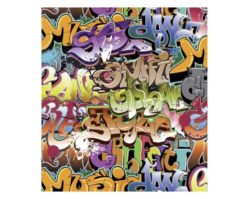 Vliesové fototapety na zeď Graffiti   MS-3-0322   225x250 cm - Fototapety vliesové