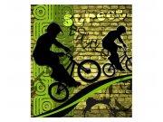 Vliesové fototapety na zeď Zelené kolo | MS-3-0328 | 225x250 cm Fototapety vliesové
