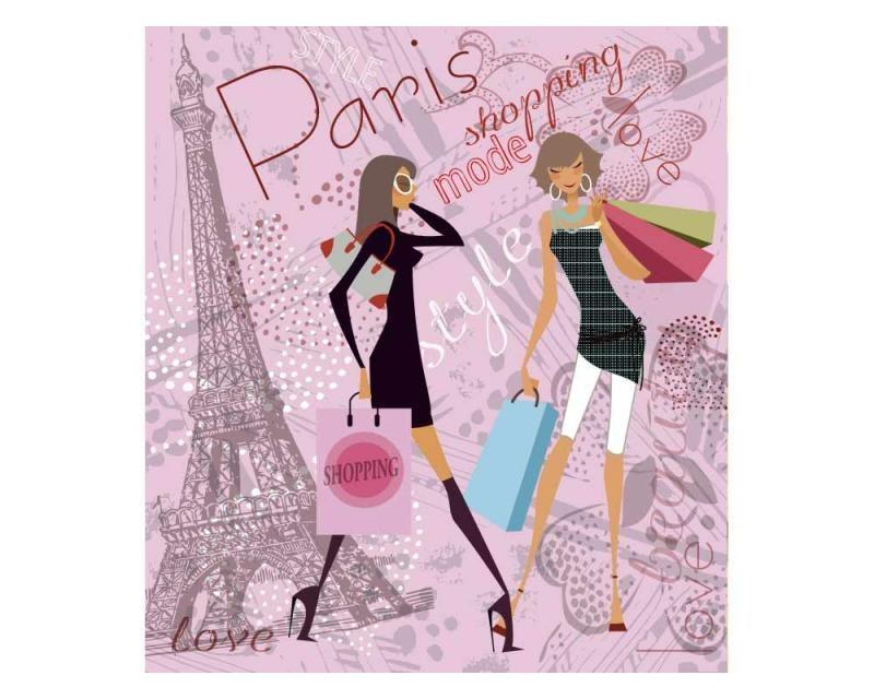 Vliesové fototapety na zeď Pařížský styl | MS-3-0331 | 225x250 cm - Fototapety vliesové