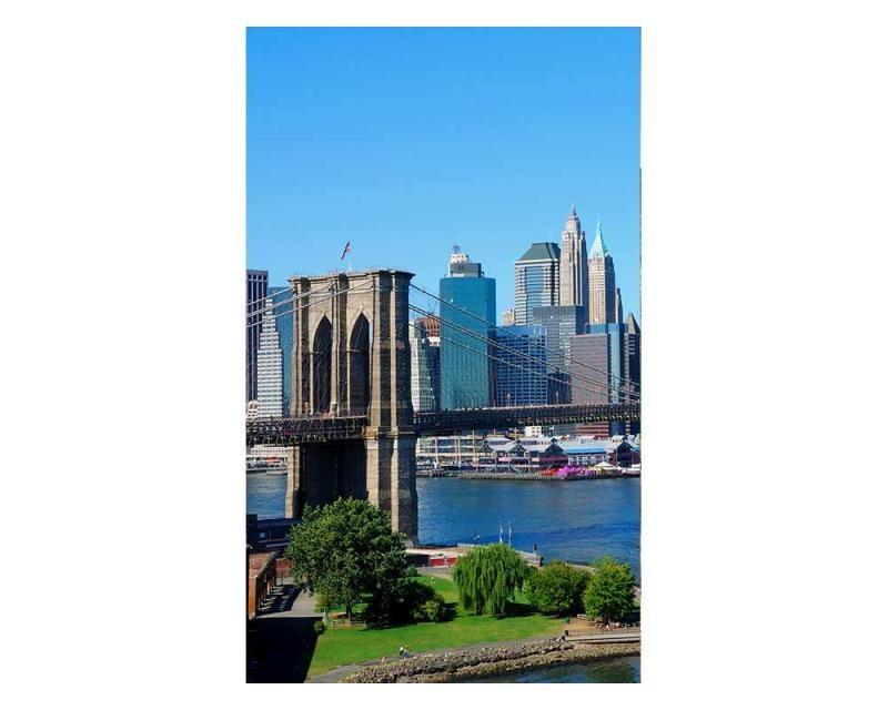 Vliesové fototapety na zeď Brooklyn | MS-2-0001 | 150x250 cm - Fototapety vliesové