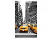 Vliesové fototapety na zeď Taxi ve městě | MS-2-0008 | 150x250 cm Fototapety vliesové