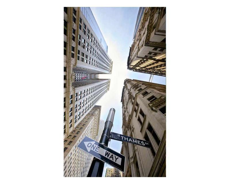 Vliesové fototapety na zeď Mrakodrapy na Broadwayi | MS-2-0011 | 150x250 cm - Fototapety vliesové