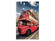 Vliesové fototapety na zeď Londýnský autobus | MS-2-0017 | 150x250 cm Fototapety vliesové