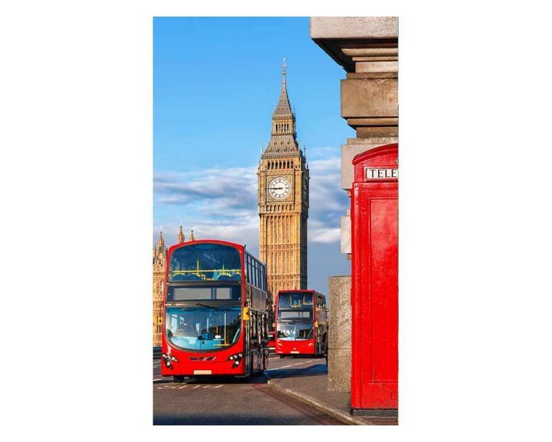 Vliesové fototapety na zeď Big Ben | MS-2-0018 | 150x250 cm - Fototapety vliesové