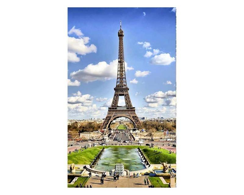 Vliesové fototapety na zeď Paříž | MS-2-0025 | 150x250 cm - Fototapety vliesové