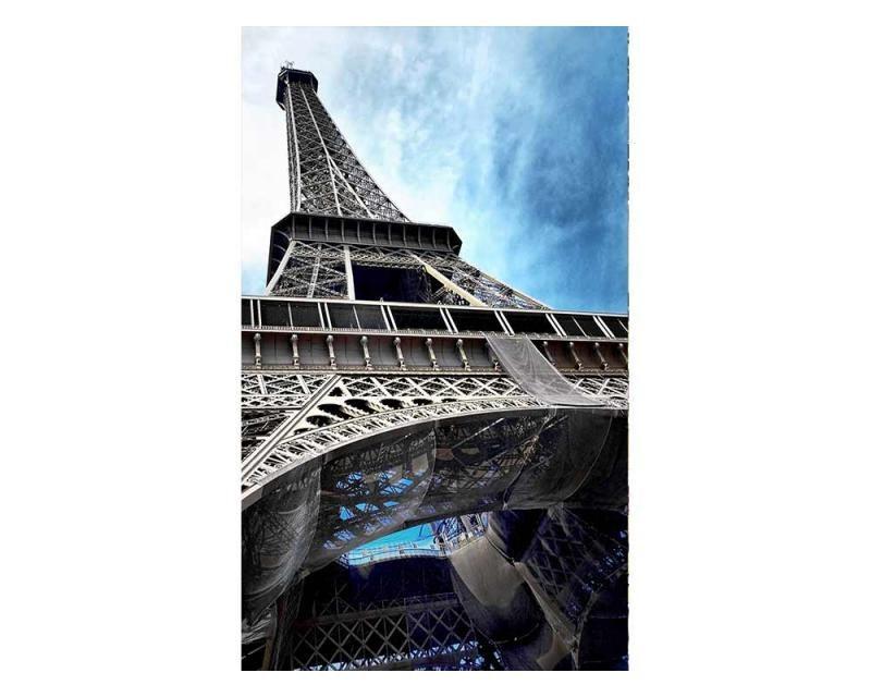Vliesové fototapety na zeď Eiffelová věž | MS-2-0026 | 150x250 cm - Fototapety vliesové