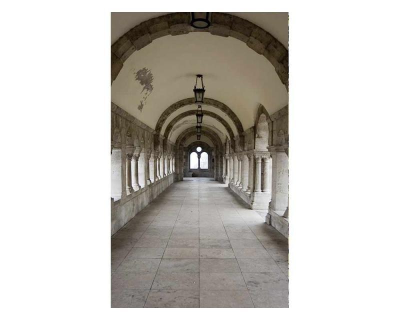Vliesové fototapety na zeď Starobylá chodba | MS-2-0034 | 150x250 cm - Fototapety vliesové