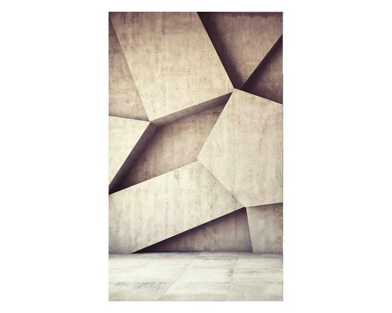 Vliesové fototapety na zeď 3D betonové pozadí | MS-2-0037 | 150x250 cm - Fototapety vliesové