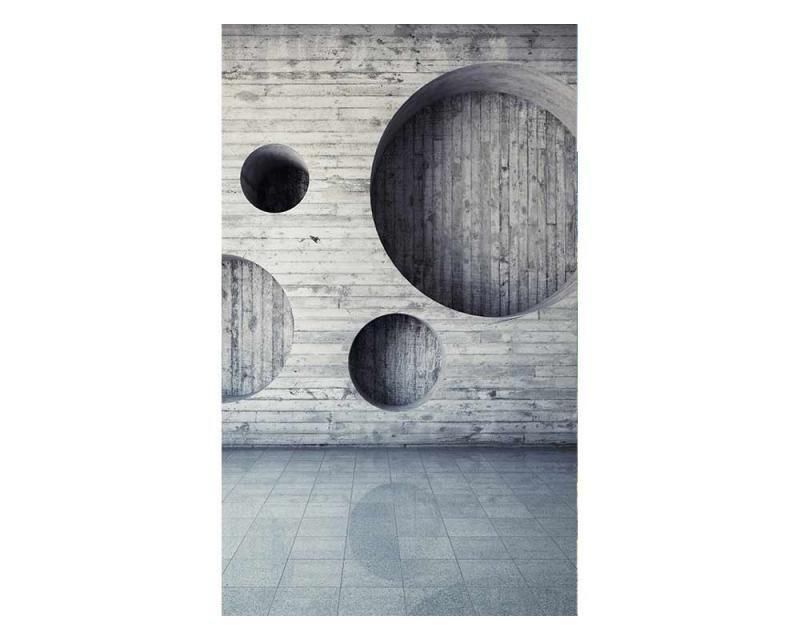 Vliesové fototapety na zeď 3D geometrické pozadí   MS-2-0038   150x250 cm - Fototapety vliesové