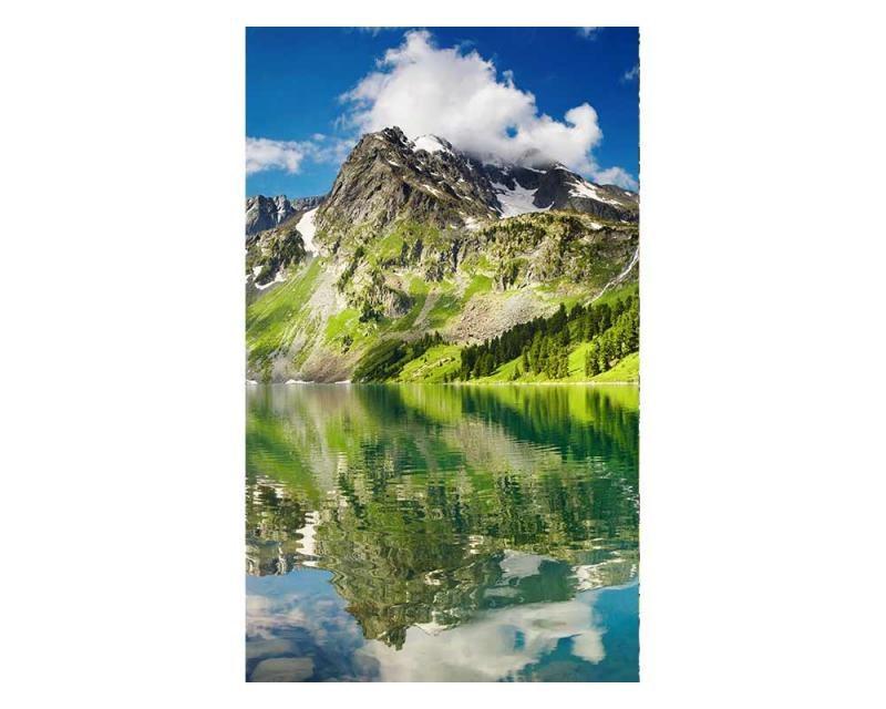 Vliesové fototapety na zeď Jezero | MS-2-0062 | 150x250 cm - Fototapety vliesové