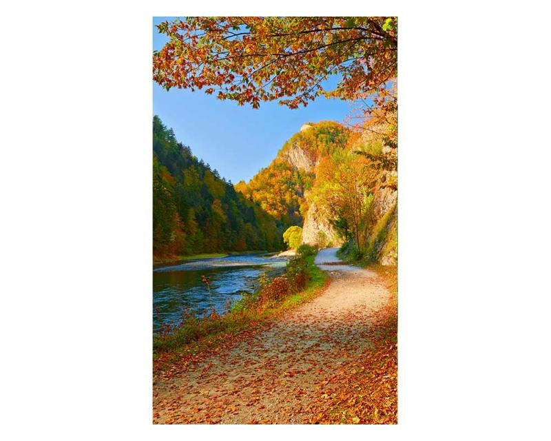 Vliesové fototapety na zeď Řeka Dunajec | MS-2-0069 | 150x250 cm - Fototapety vliesové