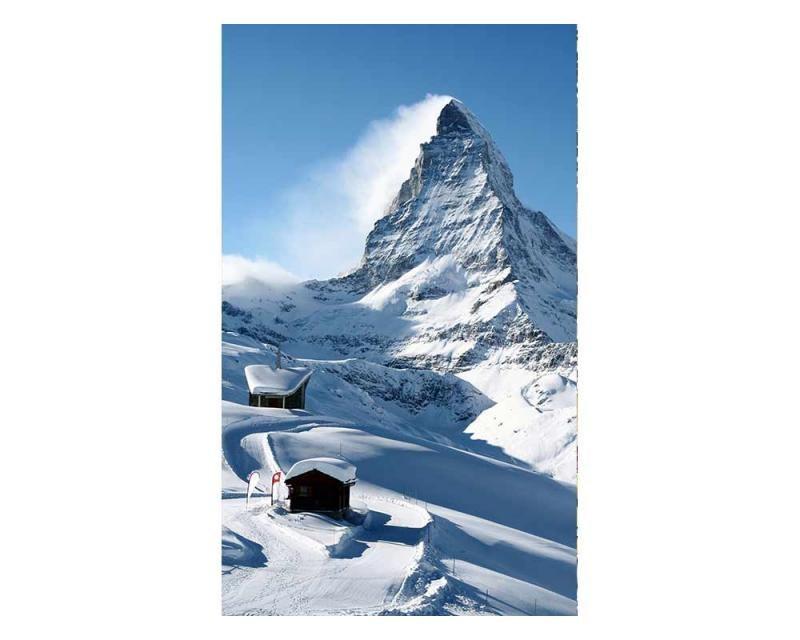 Vliesové fototapety na zeď Matterhorn | MS-2-0073 | 150x250 cm - Fototapety vliesové