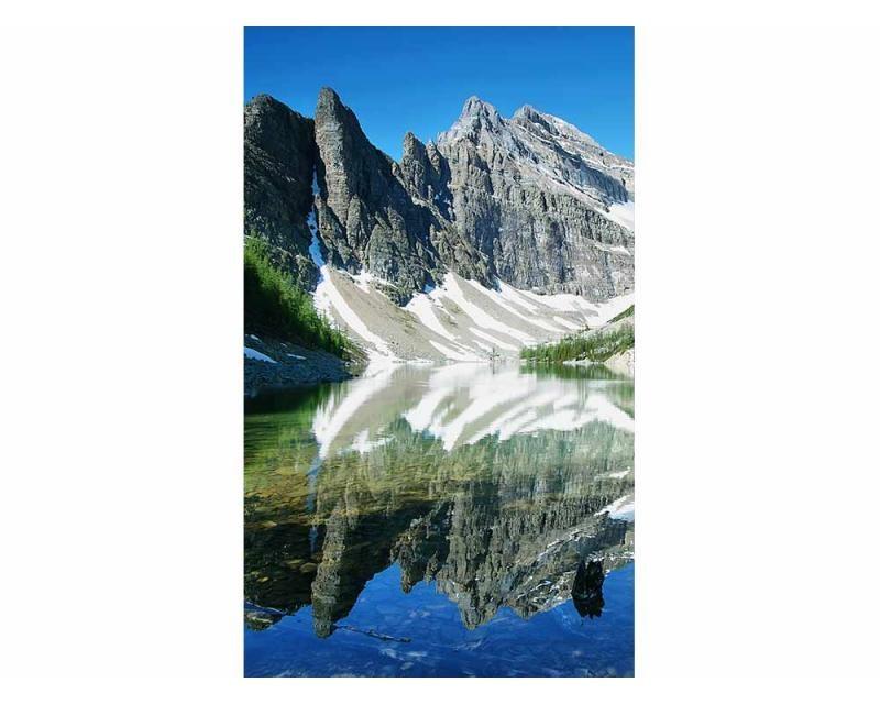 Vliesové fototapety na zeď Jezero Agnes | MS-2-0074 | 150x250 cm - Fototapety vliesové
