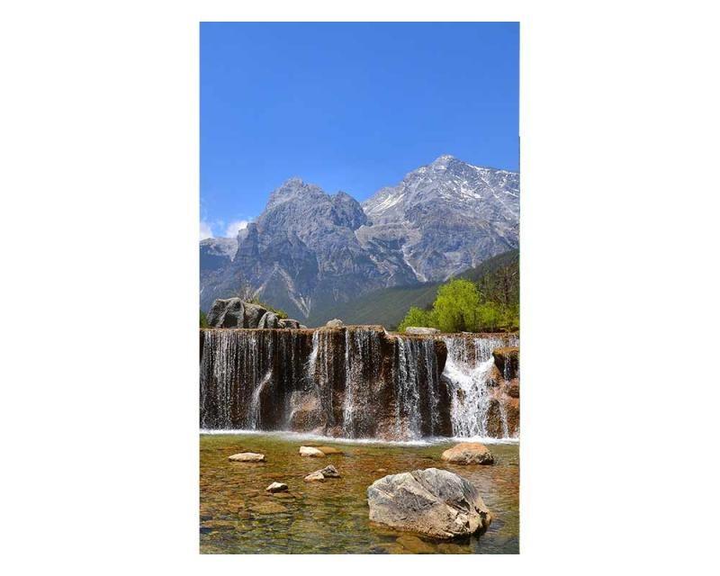 Vliesové fototapety na zeď Alpy   MS-2-0075   150x250 cm - Fototapety vliesové