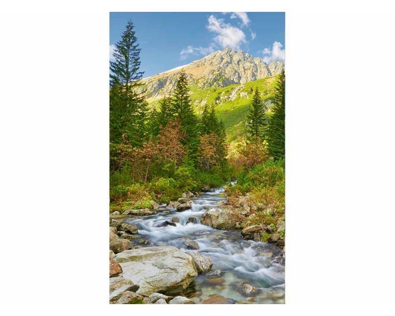 Vliesové fototapety na zeď Údolí | MS-2-0077 | 150x250 cm - Fototapety vliesové