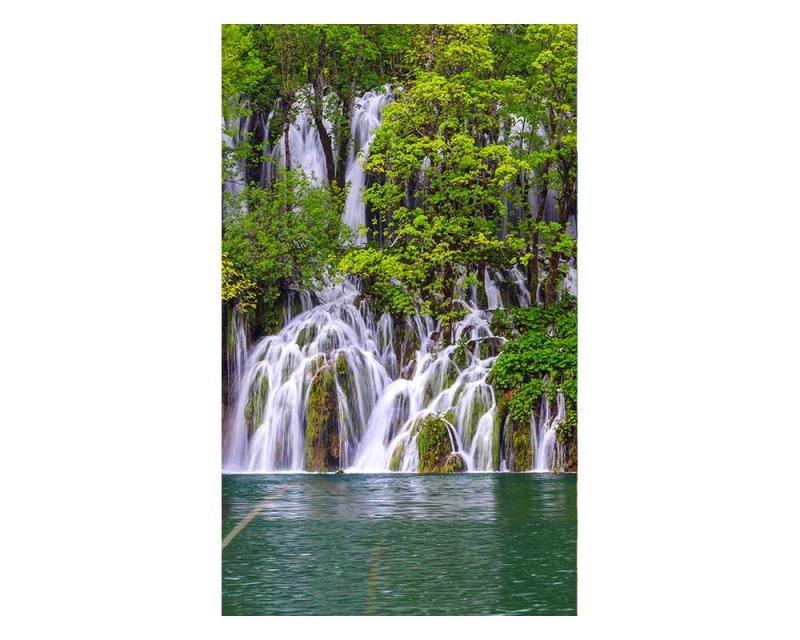 Vliesové fototapety na zeď Plitvická jezera | MS-2-0078 | 150x250 cm - Fototapety vliesové