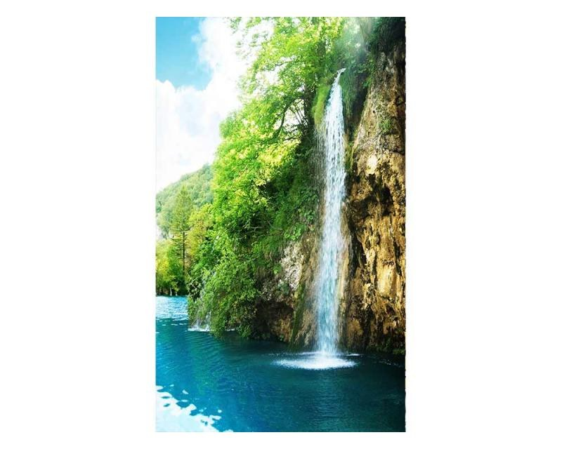 Vliesové fototapety na zeď Relax v lese | MS-2-0085 | 150x250 cm - Fototapety vliesové