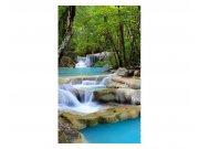 Vliesové fototapety na zeď Vodopád | MS-2-0086 | 150x250 cm Fototapety vliesové