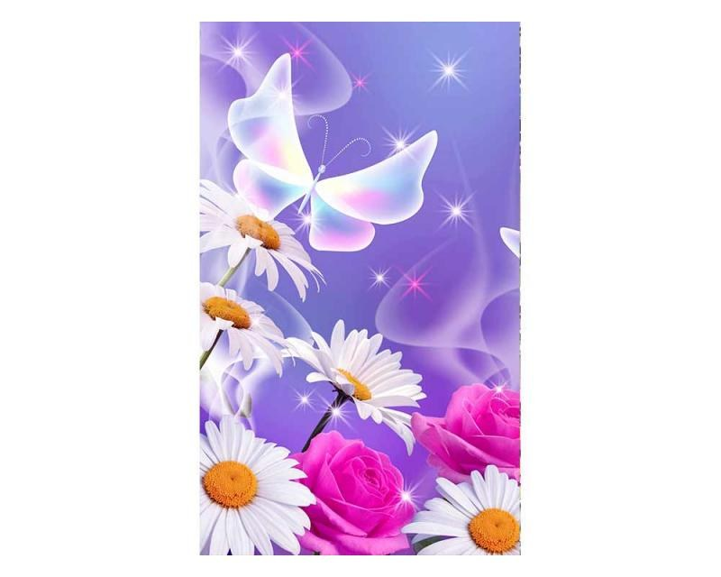 Vliesové fototapety na zeď Motýlci | MS-2-0113 | 150x250 cm - Fototapety vliesové