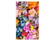 Vliesové fototapety na zeď Sušené květiny | MS-2-0143 | 150x250 cm Fototapety vliesové
