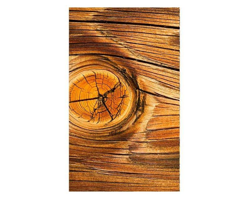 Vliesové fototapety na zeď Dřevěný suk | MS-2-0157 | 150x250 cm - Fototapety vliesové