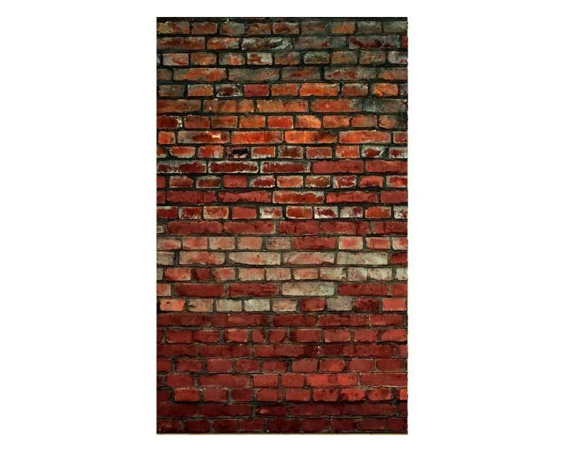 Vliesové fototapety na zeď Cihlová zeď | MS-2-0166 | 150x250 cm - Fototapety vliesové
