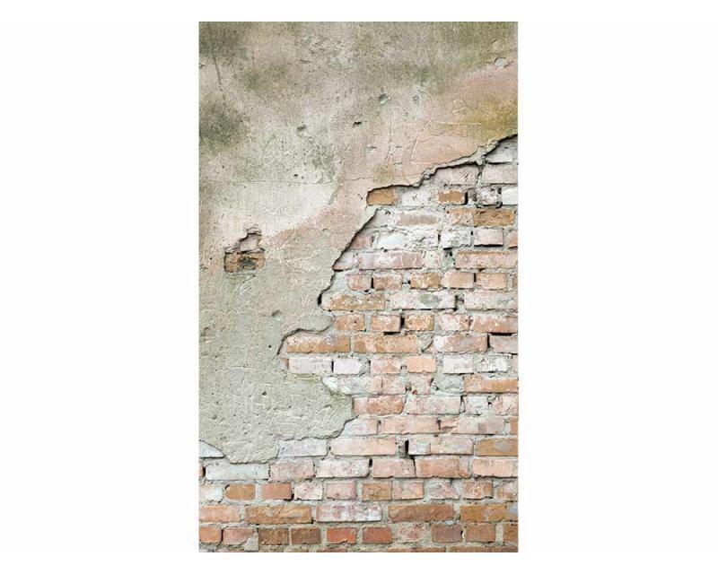 Vliesové fototapety na zeď Oprýskaná zeď | MS-2-0168 | 150x250 cm - Fototapety vliesové