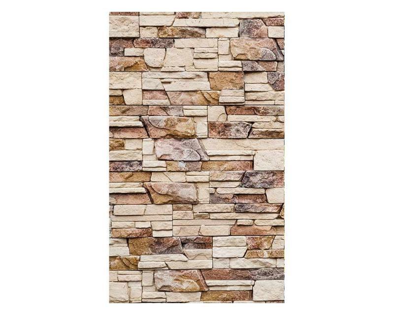 Vliesové fototapety na zeď kamenná zeď | MS-2-0172 | 150x250 cm - Fototapety vliesové