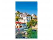 Vliesové fototapety na zeď Řecké pobřeží | MS-2-0197 | 150x250 cm Fototapety vliesové