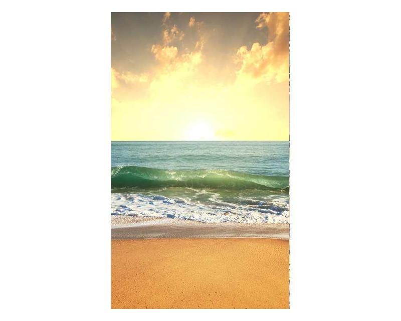 Vliesové fototapety na zeď Moře při západu slunce | MS-2-0209 | 150x250 cm - Fototapety vliesové