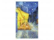 Vliesové fototapety na zeď Terasa kavárny od Vincenta van Gogha | MS-2-0251 | 150x250 cm Fototapety vliesové