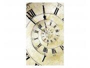 Vliesové fototapety na zeď Spirálové hodiny | MS-2-0272 | 150x250 cm Fototapety vliesové