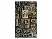 Vliesové fototapety na zeď Číslice | MS-2-0273 | 150x250 cm Fototapety vliesové