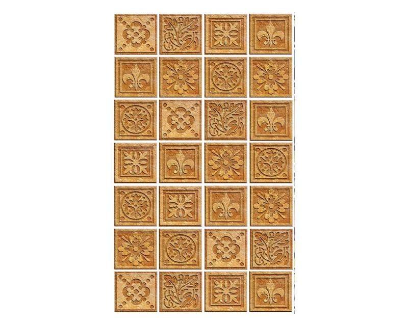 Vliesové fototapety na zeď Žulové kachličky   MS-2-0274   150x250 cm - Fototapety vliesové